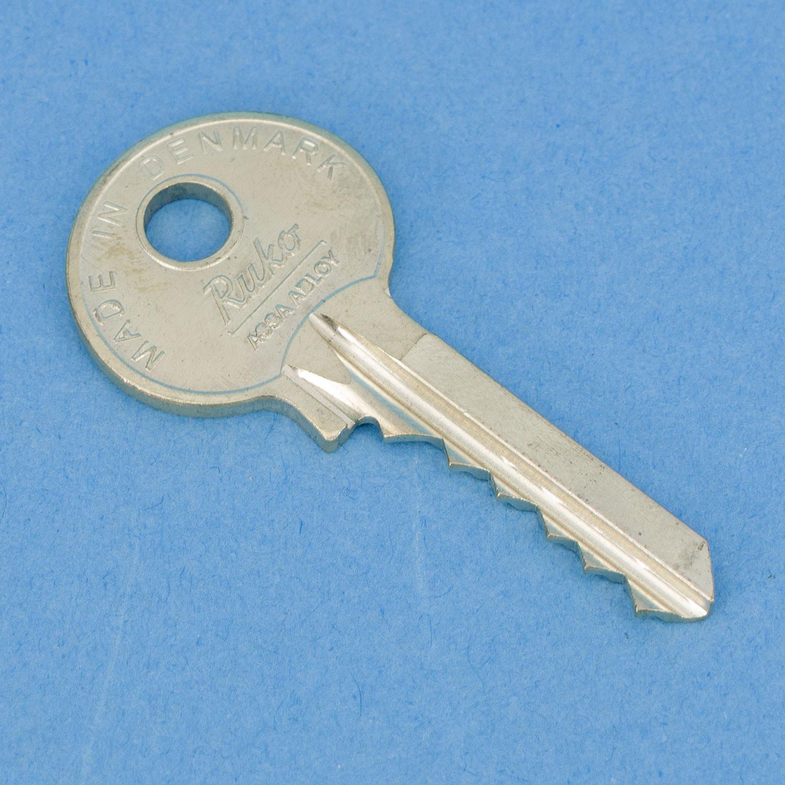 Super 35 Schlüssel für RUKO-Schloss 205 Triax XP09