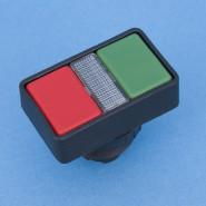 Doppel-Drucktaste RAFIX30 rot/grün