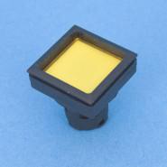 Drucktaste RAFIX 16F gelb, beleuchtbar