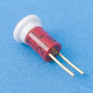 LED Bi-Pin 24V/13mADC rot 6-Chip