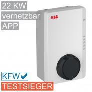 Wallbox Terra AC 22kW mit Ladedose