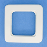 ADR 012  Deckel-Rahmen 75x75 - weiß