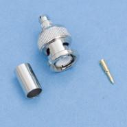 BNC-Stecker crimp für RG 59/RG 62