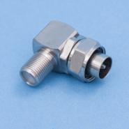 CC-90 IEC14m-Ff mini  Koax-St.M14-F-Bu w