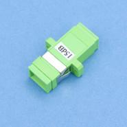 Dämpfbare Kupplung 15dB SC/APC grün