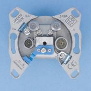 JAD 410TRSM  SAT Modem-Durchgangsdose