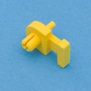 Bandbefestigungsteil-gelb